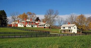 Virginia Horse Farms For Sale Virginia Estates